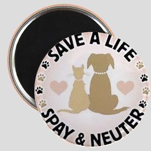 Save A Life Spay & Neuter Magnet