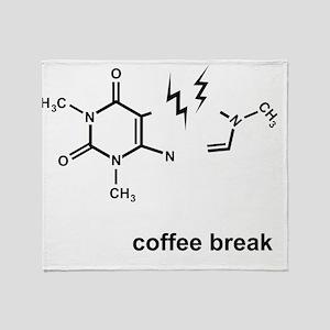 Coffee Break! Throw Blanket