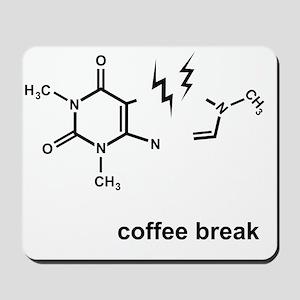Coffee Break! Mousepad