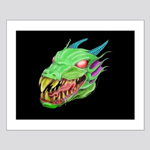Dragon Head Small Poster