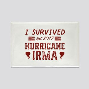 I Survived Hurricane Irma Rectangle Magnet