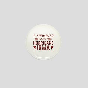 I Survived Hurricane Irma Mini Button