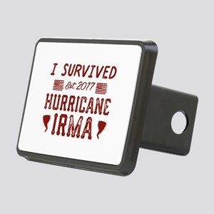 I Survived Hurricane Irma Rectangular Hitch Cover