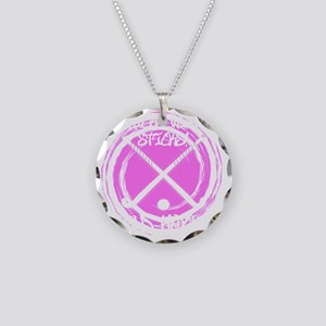 Chicks With Sticks - Field H Necklace Circle Charm