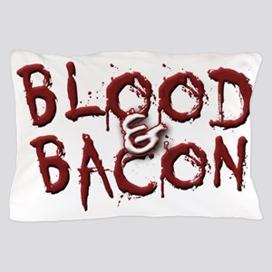 Blood and Bacon Logo #1 Pillow Case