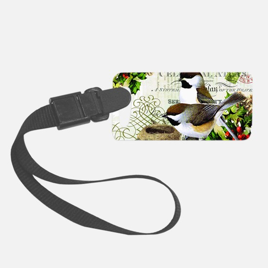 Heather Myers  WINTER GARDEN  ca Luggage Tag