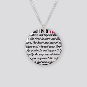 Definition of a Nurse Necklace Circle Charm