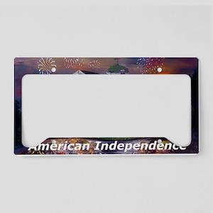 American Independence License Plate Holder