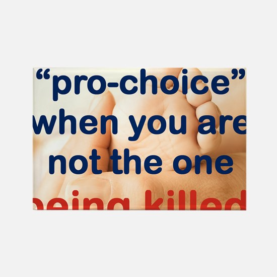 ITS EASY BEING PRO CHOICE Rectangle Magnet