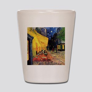 Van Gogh, Cafe Terrace at Night Shot Glass