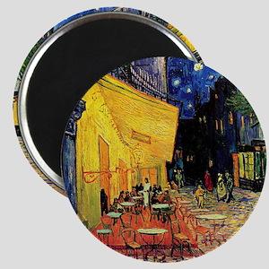 Van Gogh, Cafe Terrace at Night Magnet