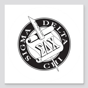 "SDX Square Car Magnet 3"" x 3"""