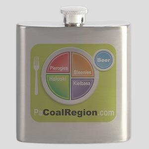 Coal Region Food Groups Flask