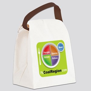 Coal Region Food Groups Canvas Lunch Bag