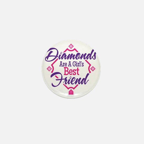 Diamonds Mini Button