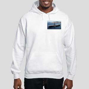 CV 16 Ship's Image Hooded Sweatshirt