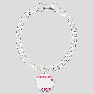nurse2 Charm Bracelet, One Charm