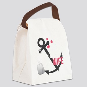 Seabees Wife Canvas Lunch Bag