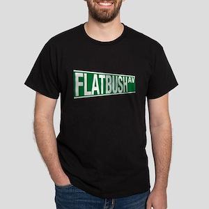 Flatbush Ave  Dark T-Shirt