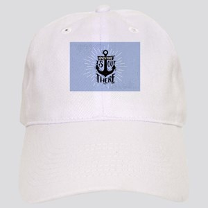Adventure Is Out There Anchor Design Cap