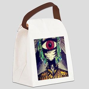Multidimensional explorer   Canvas Lunch Bag