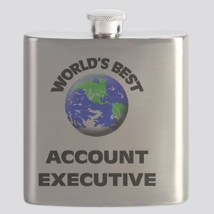 World's Best Account Executive Flask