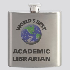 World's Best Academic Librarian Flask