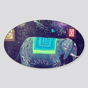 Multidimensional companion  Sticker (Oval)