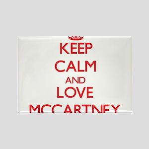 Keep calm and love Mccartney Magnets