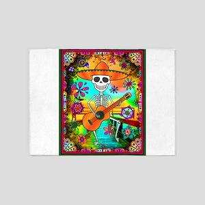 Best Seller Sugar Skull 5'x7'Area Rug