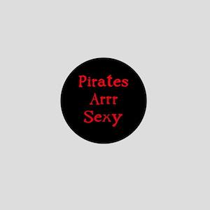 Pirates Arrr Sexy Mini Button