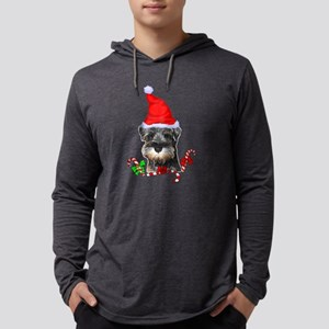 Miniature Schnauzer Christmas Long Sleeve T-Shirt