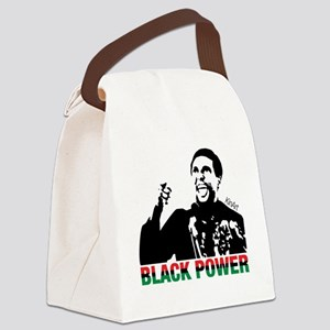 Black Power Now Canvas Lunch Bag