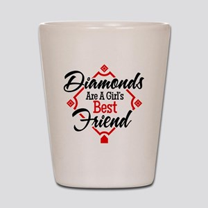 Diamonds BR Shot Glass