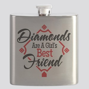 Diamonds BR Flask