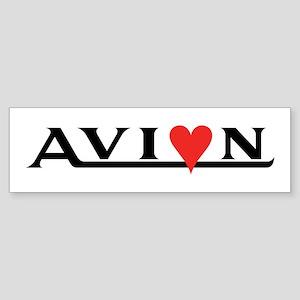 Love my Avion Bumper Sticker