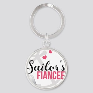 Sailors Fiancee Round Keychain