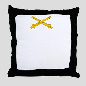 Call for Artillery Throw Pillow