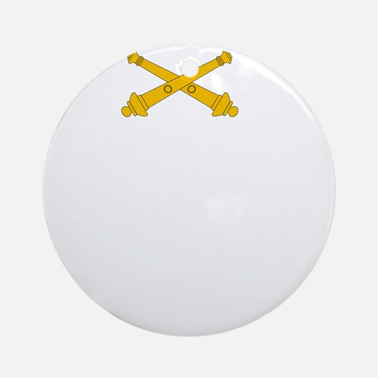Call for Artillery Round Ornament