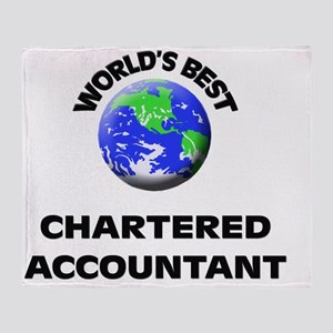 World's Best Chartered Accountant Throw Blanket