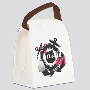 Coasties Wife Canvas Lunch Bag