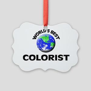 World's Best Colorist Picture Ornament