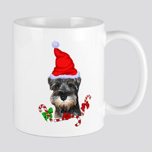Miniature Schnauzer Christmas Mugs