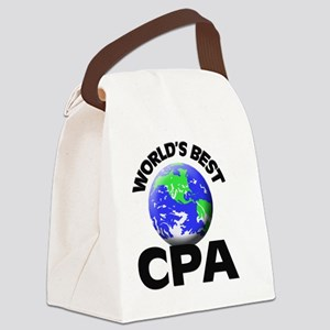 World's Best Cpa Canvas Lunch Bag