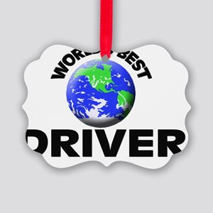 World's Best Driver Picture Ornament