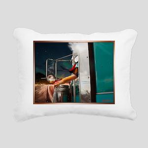 matryoshkaTfront Rectangular Canvas Pillow
