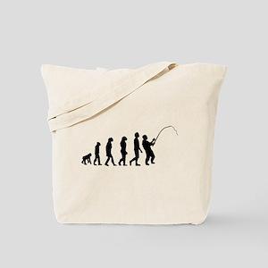 Fishing Evolution Tote Bag