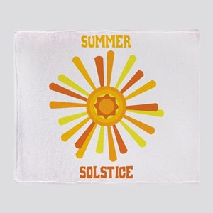 Summer Solstice Throw Blanket