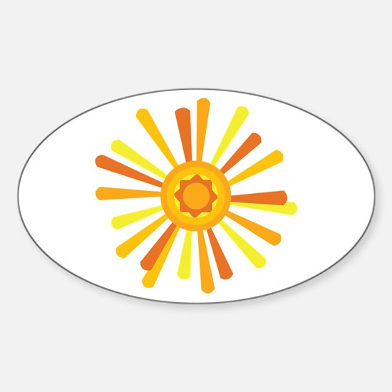 Summer Sun Decal