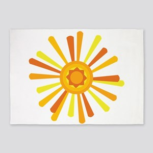 Summer Sun 5'x7'Area Rug